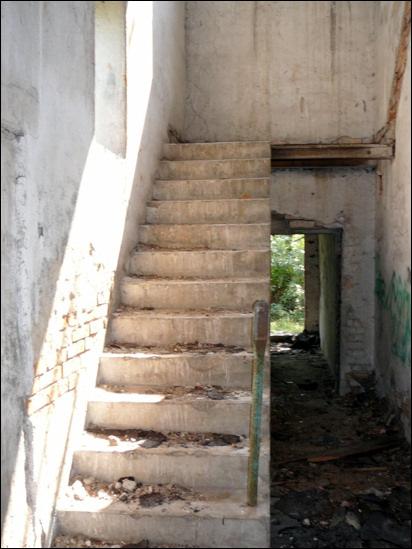 Zawidów schody do nikad