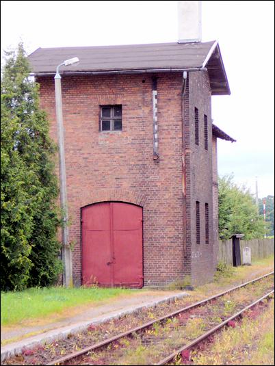 Wieleń Pn. przy stacji kolejowej