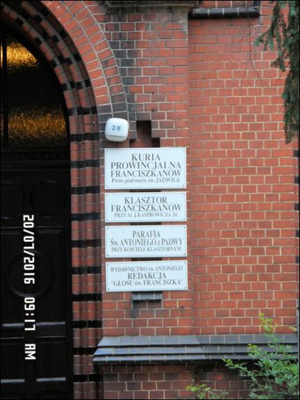 WROCŁAW Klasztor Franciszkanów